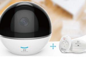 Camera Wifi quay quét EZVIZ CS-CV248 C6T 1080P có RF (CS-CV248-A3-32WMFR) Tặng thẻ 32G