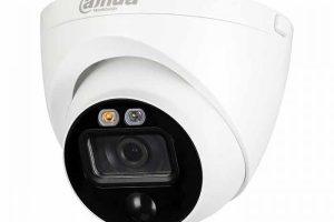 Camera HDCVI IoT Dome 5MP DAHUA DH-HAC-ME1500EP-LED( Tích hợp đèn cảnh báo)